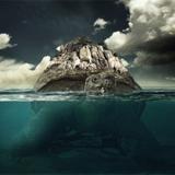 miniature Tortue sous-marine géante