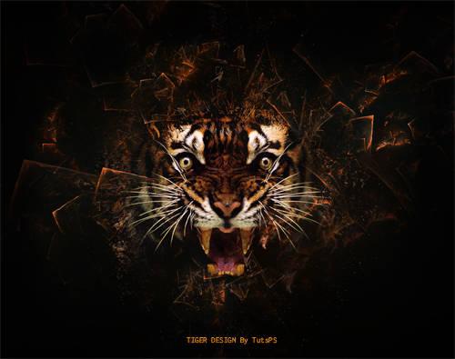 Tigre psychédélique