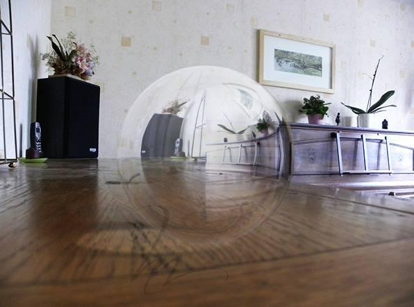 Créer une sphère 3D transparente