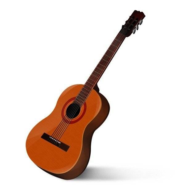 Dessiner une guitare