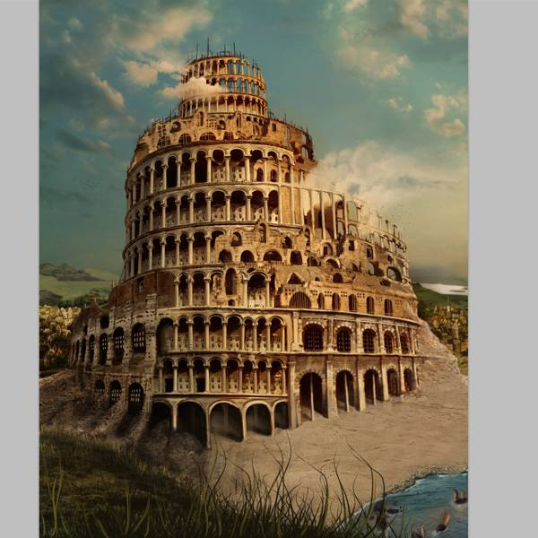 Dessiner la tour de Babel