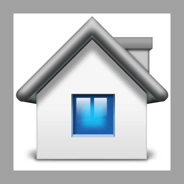 """Créer une icône Mac """"home"""""""