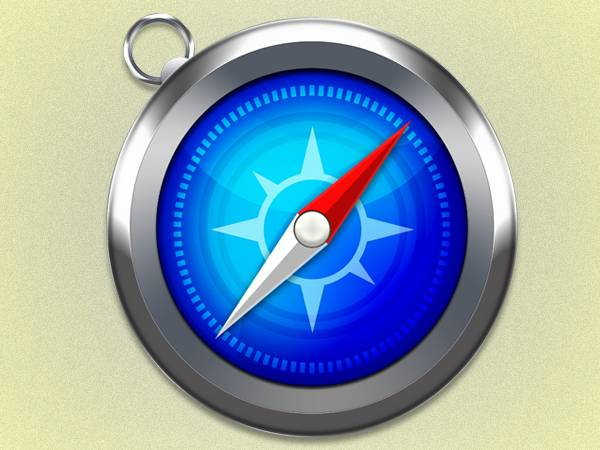 Créer l'icône de Safari