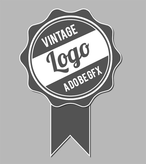Badge vintage
