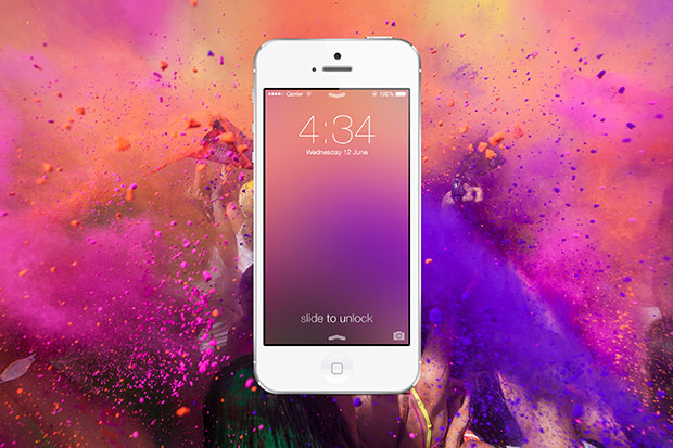 Créer un fond iOS 7