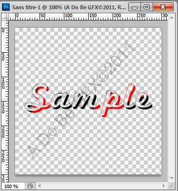 Verrouiller les pixels transparents