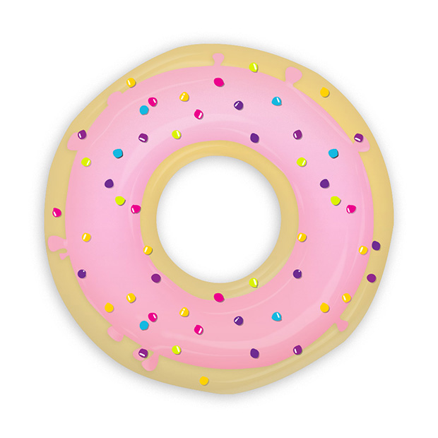 Créer un donut et son glaçage avec Photoshop et Illustrator